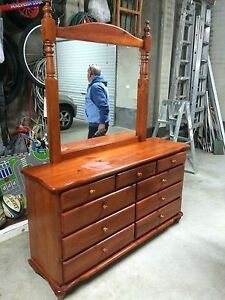 9 Draw dresser with mirror Sydenham Marrickville Area Preview