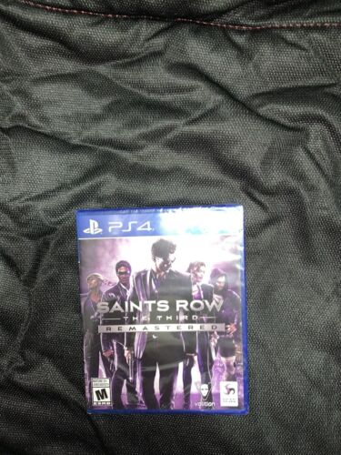 NEW SEALED Saints Row The Third 3rd Remastered Playstation 4 PS4 Game - $22.00