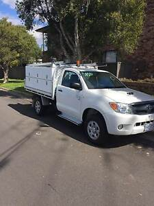 2007 TOYOTA HILUX SR KUN26R TURBO DIESEL SERVICE TOOL TRAY UTE Westmead Parramatta Area Preview