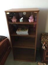 Cabinet - 4 shelf multipurpose cabinet with glass panel Bankstown Bankstown Area Preview