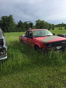 Selling or parting out mazda b2200