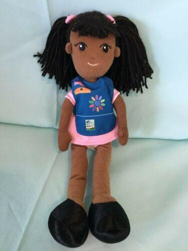 """Kiara Girl Scouts Doll 14"""" Plush R6"""