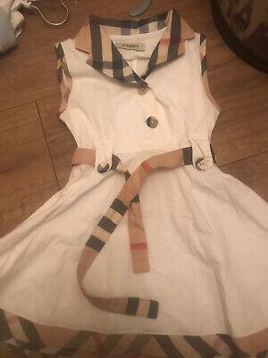 Girls Burberry Dress 3-4