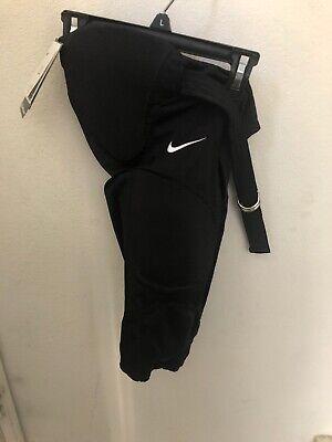 NWT NIKE BOYS FOOTBALL BLACK BASE LAYER ATHLETIC UNDERWEAR 378273 SMALL $40 Boys Football Underwear
