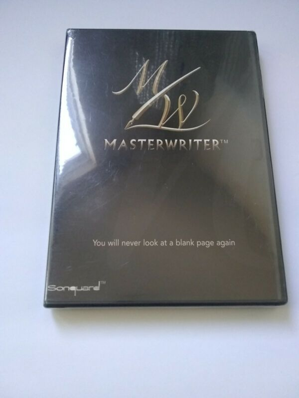 Masterwriter DVD Software With Serial Number - Songwriting Tools *SEAL HAS WEAR*