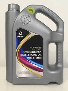 LOPAL SEMI-SYNTHETIC DIESEL ENGINE OIL..V 8000 Bankstown Bankstown Area Preview