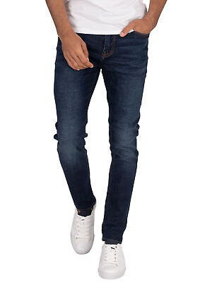Superdry Men's Skinny Travis Jeans, Blue