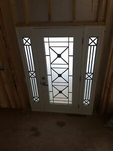 Custom Front Door with 2 side lights Kitchener / Waterloo Kitchener Area image 7