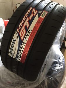 265/35/18 Federal ST-1 summer tires new