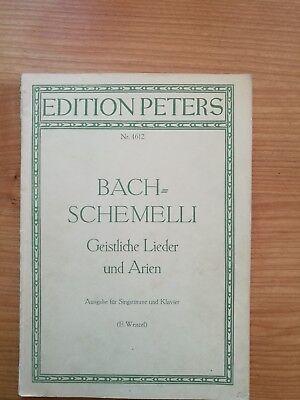 Noten. Brahms-Album Band II. Ausgabe für tiefere Stimme.