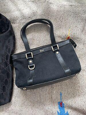 gucci handbag, vintage logo bag, Preowned