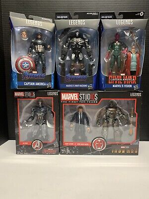 Marvel Legends Avengers Lot NEW!  Walmart Exclusive Captain America Worthy