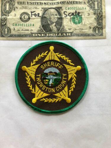 Thurston County Nebraska Police Patch (Sheriff) Un-sewn in great shape