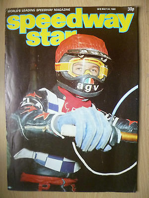 VINTAGE SPEEDWAY STAR MAGAZINE, Vol. 29, No. 09, 24 MAY 1980