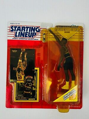 DIKEMBE MUTOMBO DENVER NUGGETS VINTAGE 1993 STARTING LINEUP