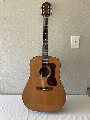 Vintage 1972 Guild D35 Acoustic Guitar