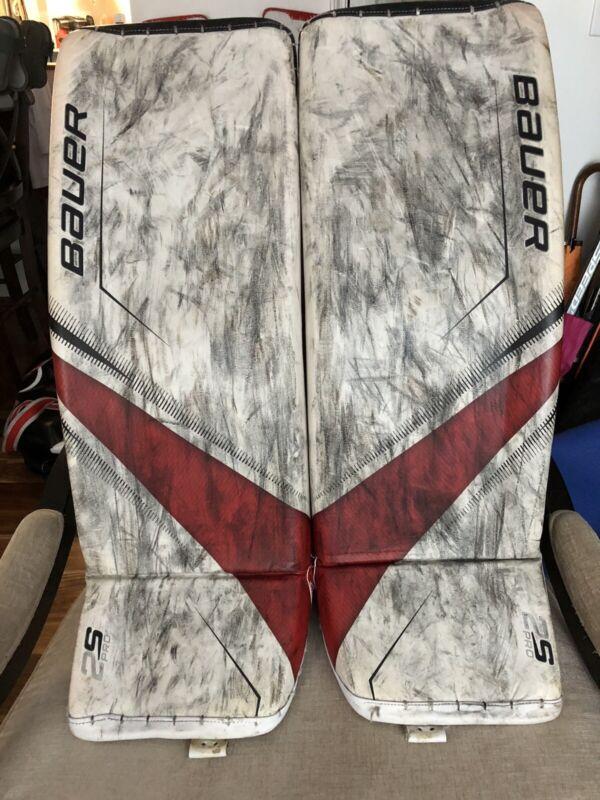 Bauer 2s Pro Goalie Leg pads- Senior, Medium