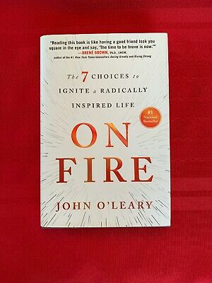 On Fire Signed By John O'Leary, Hardcover Brand New National Bestseller