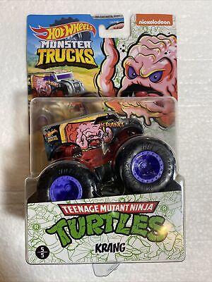 NEW Hot Wheels Monster Trucks TEENAGE MUTANT NINJA TURTLES KRANG Truck Htf 21