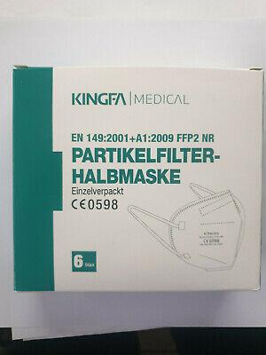 Kingfa FFP2 Schutzmaske Masken 30er-Pack CE 0598 EN 149:2001
