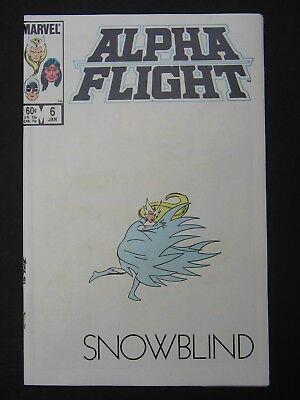 Alpha Flight #6,7,8,9 NM- 1984 Lot of 4 High Grade Marvel Comic Books