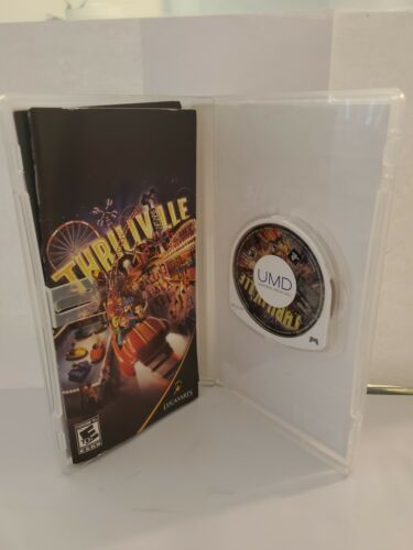 2 Game Lot Sony PSP Playstation Portable Thrillville And Lumines - $17.99