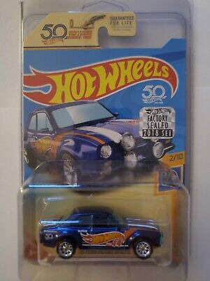 Hot Wheels 2018 Super Treasure Hunt Ford Escort RS1600 Factory Sealed Set