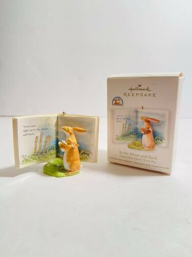 2013 Hallmark Keepsake Ornament To the Moon and Back Guess How Much I Love You