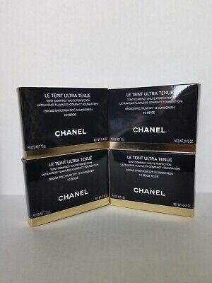 CHANEL LE TEINT ULTRA TENUE Ultrawear Flawless Compact Foundation