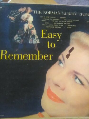 Easy To Remember Record - $5.00
