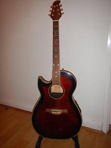 Left-handed Tanglewood Odyssey Electro Acoustic Guitar Erskineville Inner Sydney Preview