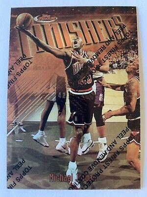 1997-98 Michael Jordan Finest Topps Finishers #39 Bulls MVP Great Condition