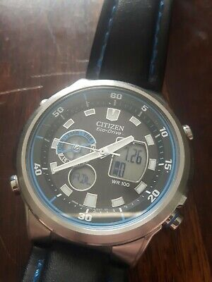 Citizen Eco Drive Men's Watch GN-4W-S . Very Nice Condition. U200 Movement.