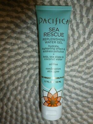 PACIFICA~~SEA RESCUE~~REPLENISHING WATER GEL~~HYDRATE,TIGHTEN SKIN 1.7 OZ SEALED