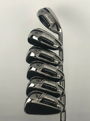 CLEVELAND LAUNCHER HB IRONS 5-PW REGULAR FLEX GRAPHITE SHAFTS