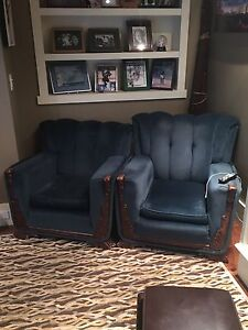 1940's King and Queen chairs