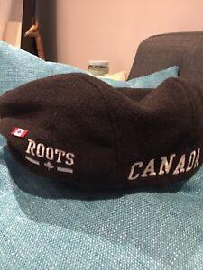 Roots Canada black Right To Play Borsalino hat