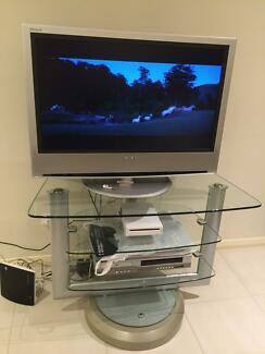 TV LCD with its TV unit Hoxton Park Liverpool Area Preview