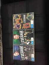 Leverage Series 3,4 and 5 DVD sets Nakara Darwin City Preview