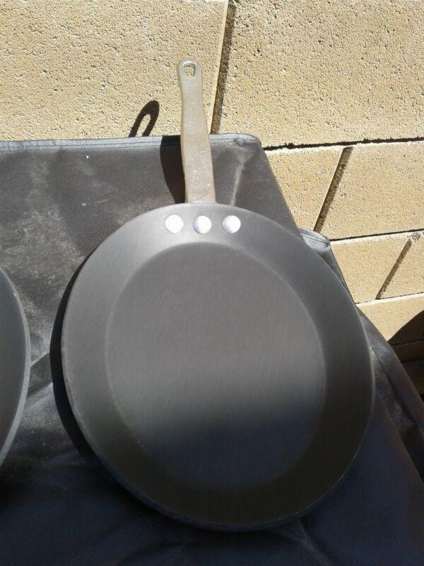 1 Vtg Commercial Aluminum Calphalon Anodized G 190 C Fajita Omelet Pan Skillet