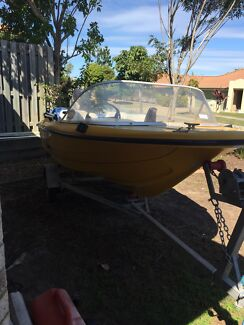 3.6m yalta craft runabout 25hp evinrude  Mango Hill Pine Rivers Area Preview