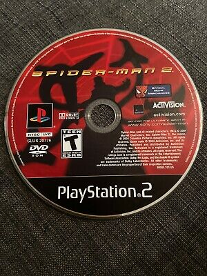 Spider-Man 2 (Sony PlayStation 2 PS2) WORKS  / DISC ONLY Free Shipping
