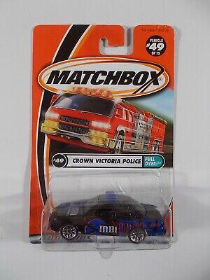 Matchbox 1/64 Crown Victoria Police