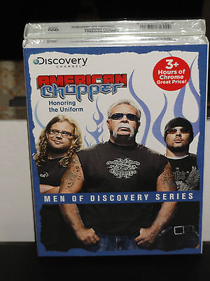 The Discovery Channel   American Chopper  Honoring The Uniform  Dvd  Brand New