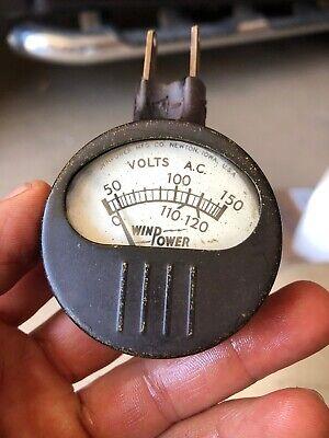 Rare Vintage Win Power Voltage Tester Model 0-116 Works