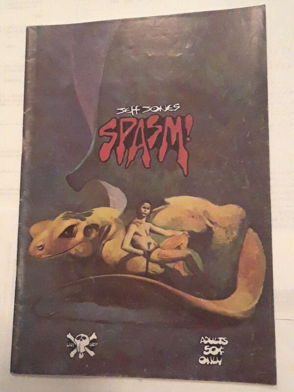 Spasm #1  1973 Last Gasp vg condition. All Jeff Jones.  1st printing