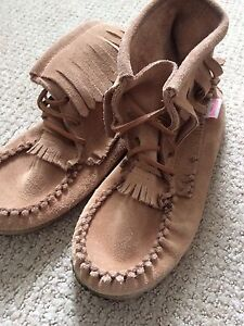 Soft c women's moccasins- 2 pairs available like new