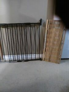Two baby gates