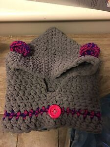 Hooded Cowl for toddler 3-5yrs old