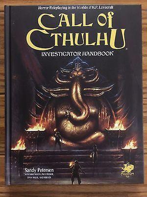 Call of Cthulhu: 7th Edition Investigator Handbook by Chaosium